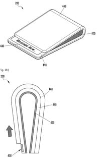 samsung foldable smartphone news galaxy x patent 1