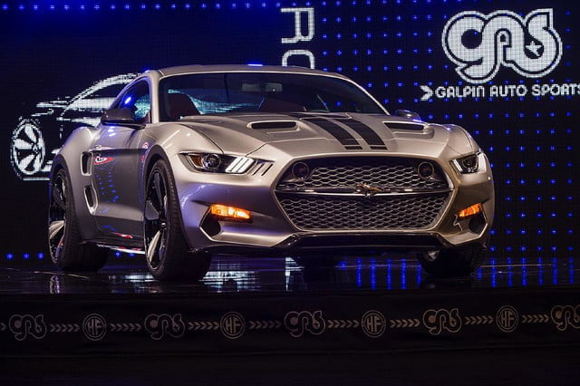 galpin auto sports unveils first production rocket mustang galpinrocket exterior 02