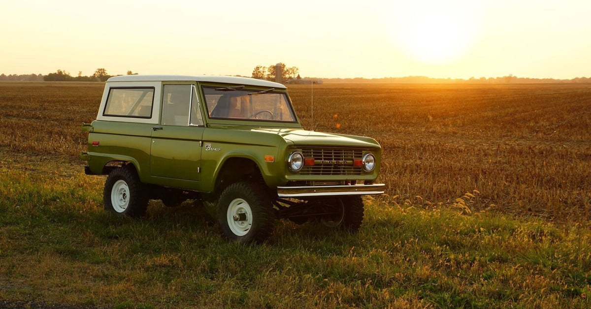 Gateway Re-creates First-Generation Bronco With Ford ...