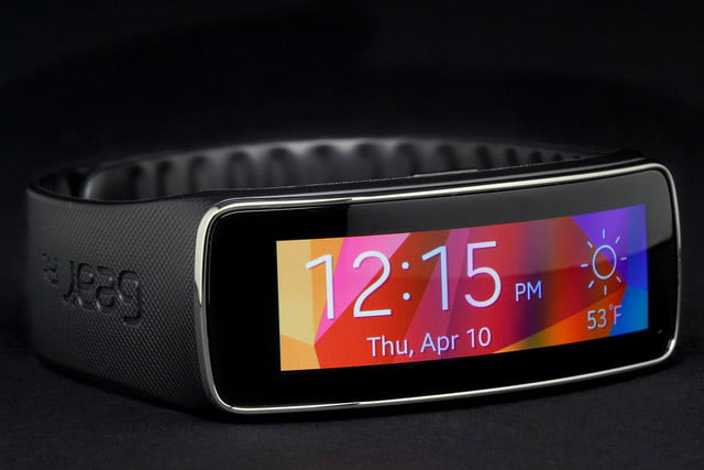 Gear Fit Watch front angle