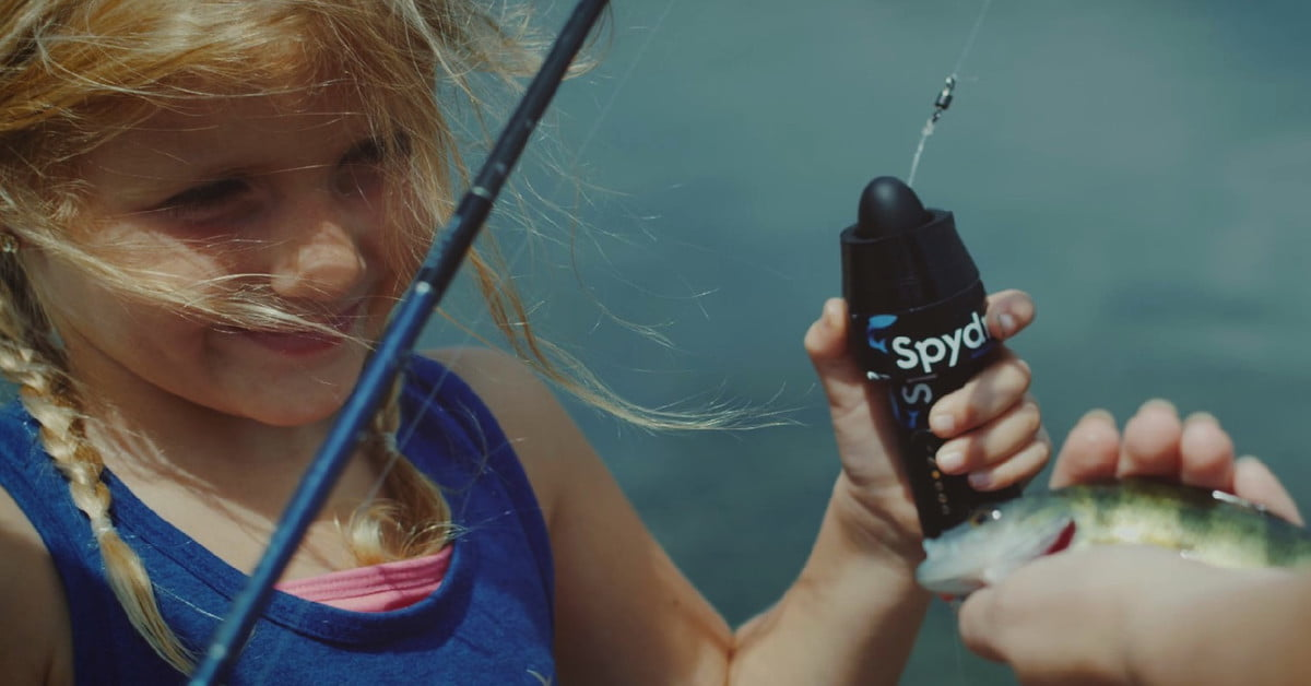 Like a gopro for guppies spydro captures footage from for Fishing line camera
