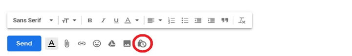 how to use gmail confidential mode compose window cropped