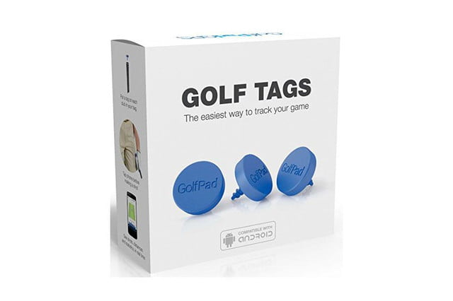 make your golf clubs smart with these little tags pad 2