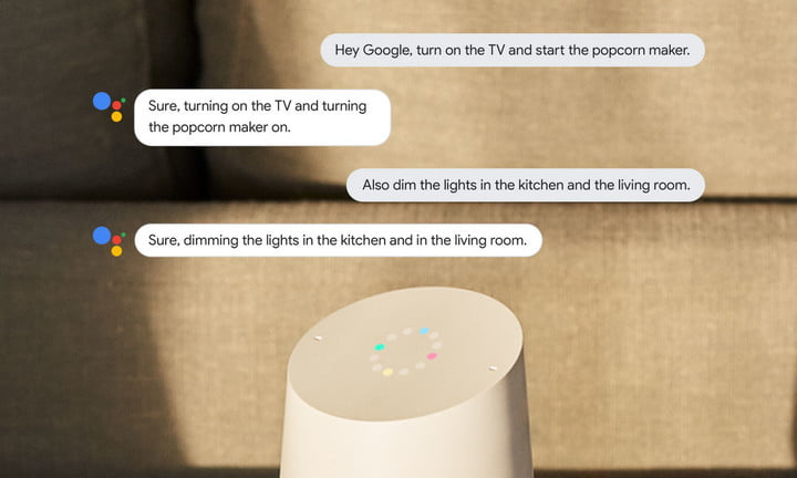 Google Assistant Continued Conversations