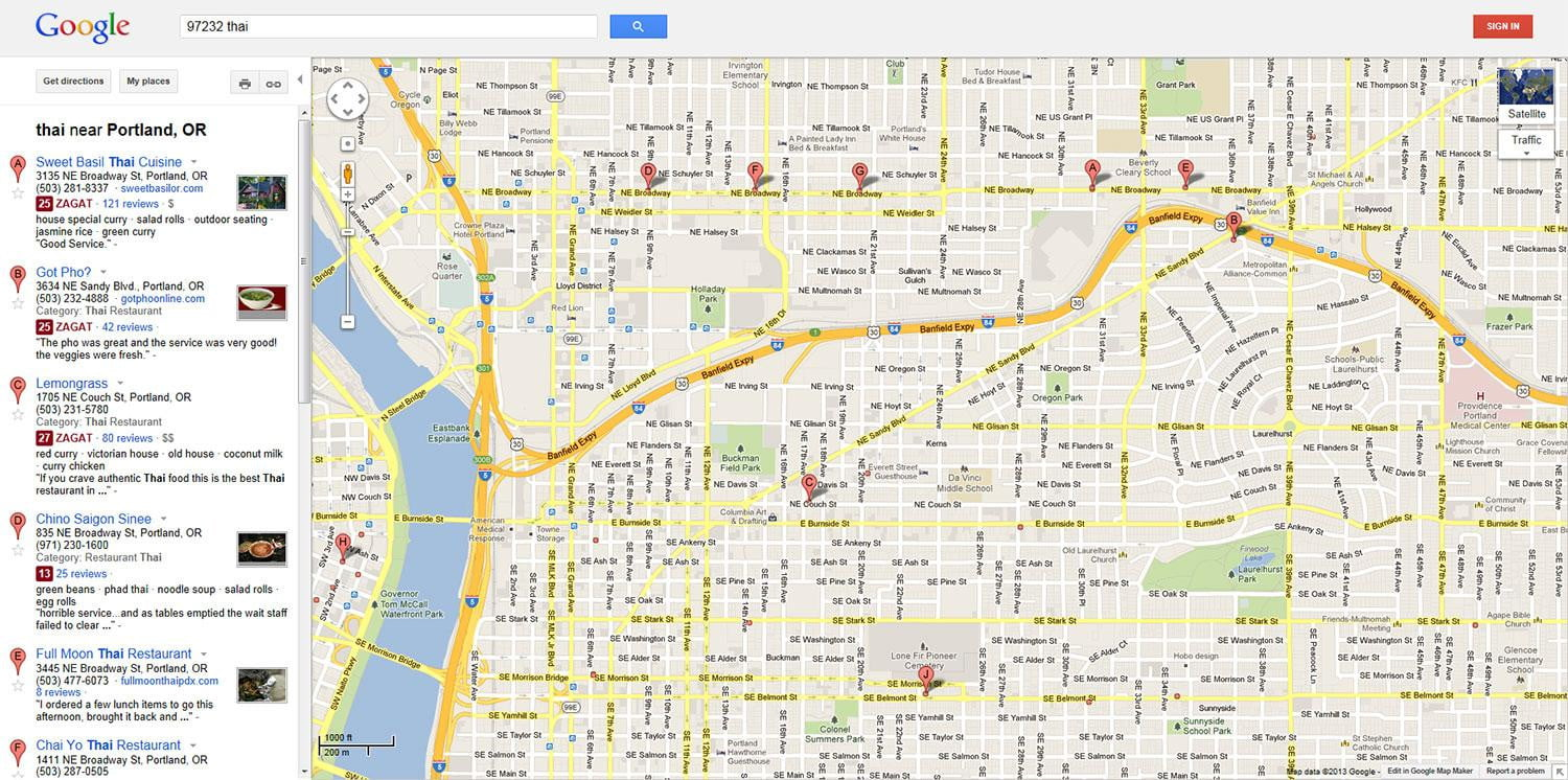 google conquers cartography old thai searchscreenshot. google conquers cartography again with faster cleaner smarter
