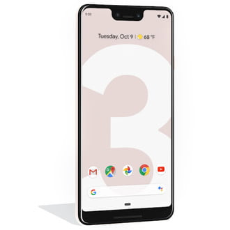 google pixel 3 xl press