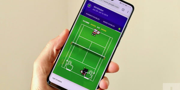 Find Google's Hidden Wimbledon Tennis Game and Forget About Work