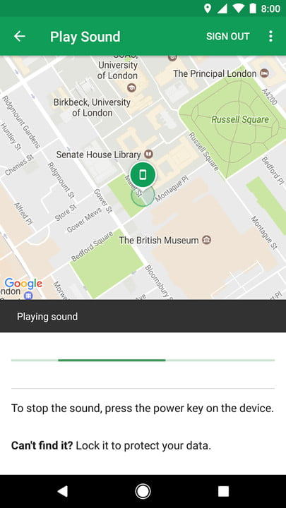 how to track an android phone google find my device 2