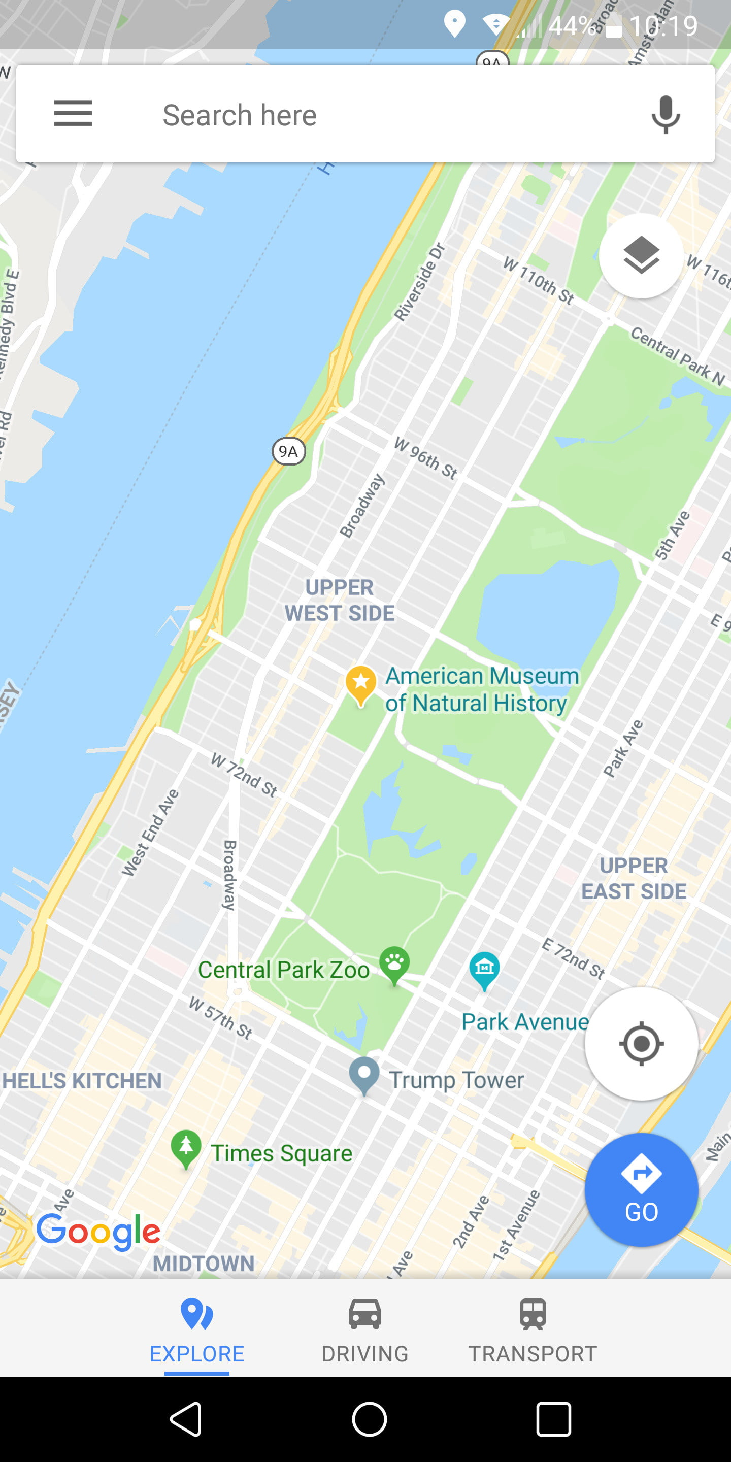 How To Use Google Maps Digital Trends 2nd Judicial Circuit Historical Society Find Things Nearby