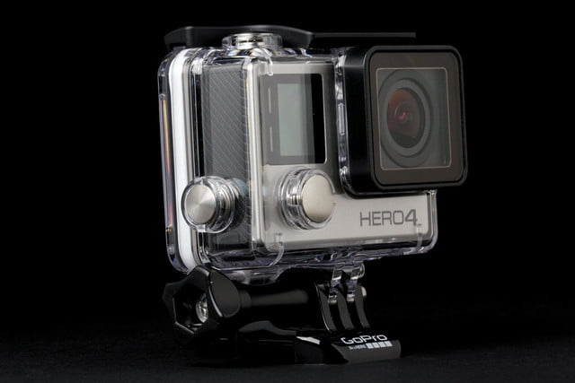 GoPro Hero4 Silver front angle 2