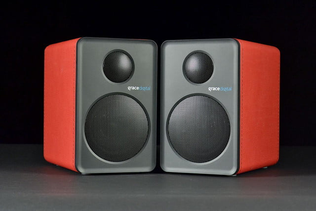 grace digital GDI BTSP207 Bluetooth speakers front
