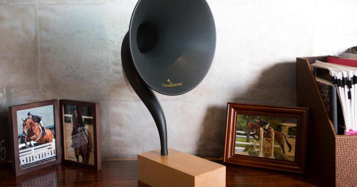 Gramovox Is A Gramophone With A 21st Century Spin