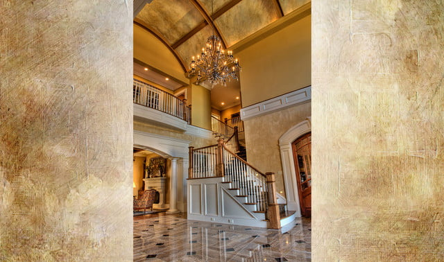 houses with amazing indoor slides greenville estate front foyer