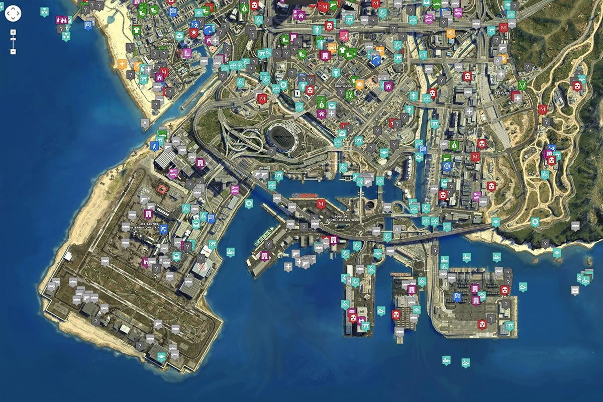 Master GTA V With This Incredible Fan Made Map | Digital Trends