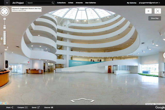 Explore the Guggenheim through the Google Cultural Institute