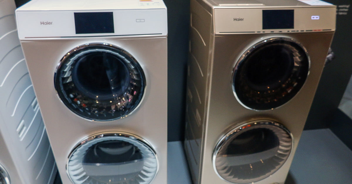 Haier S Duo Washer Is 2 Machines Stacked On Each Other