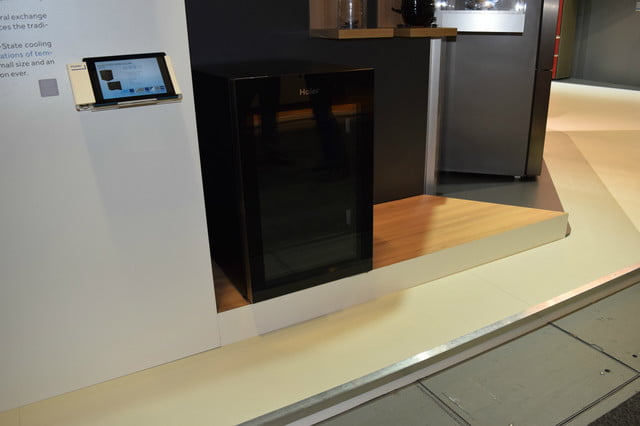 haiers solid state wine fridge uses magnetic cooling haier 4