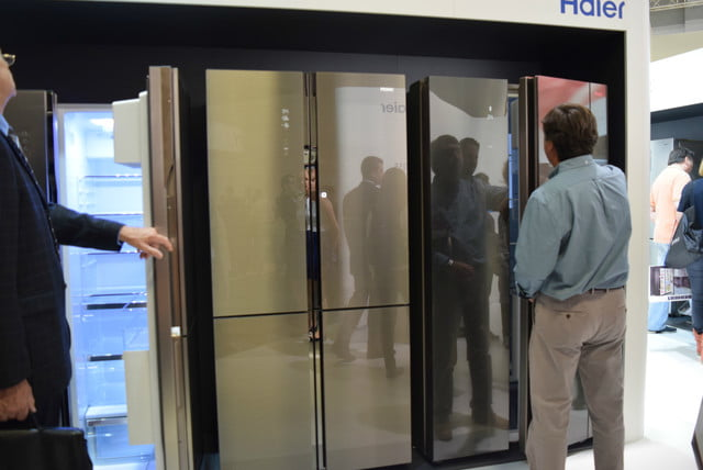 cool fridges from ifa 2015 haier smart window fridge