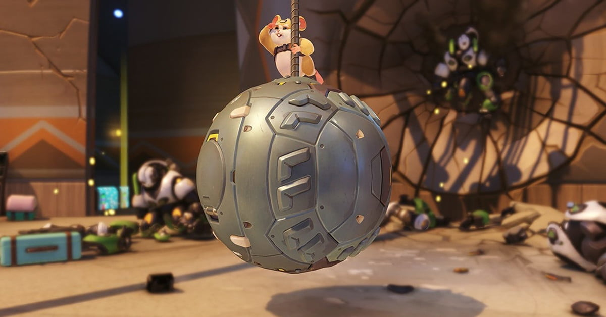 A guide to Wrecking Ball, the adorably awesome hamster from 'Overwatch'