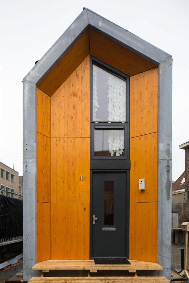 Heijmans One Houses Are Portable And Live On Vacant Lots