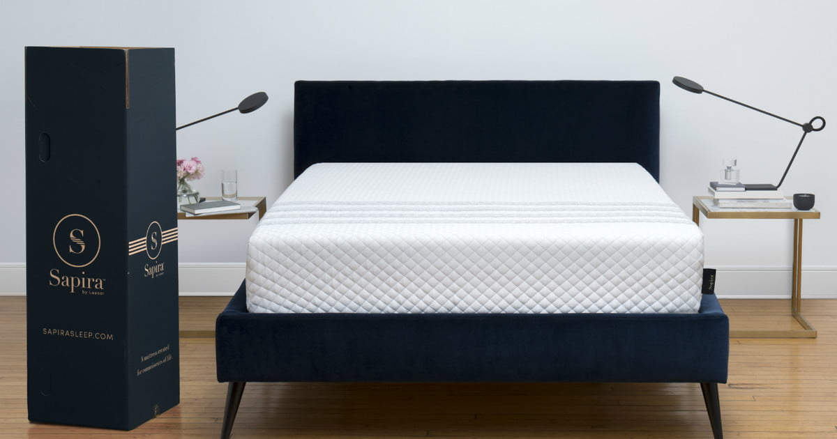 Leesa Introduces Its Luxury Sapira Mattress In A Box