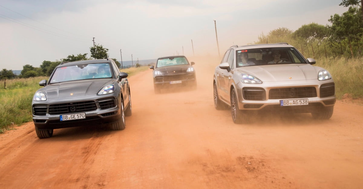 Next porsche cayenne teased during south african testing digital next porsche cayenne teased during south african testing digital trends fandeluxe Choice Image