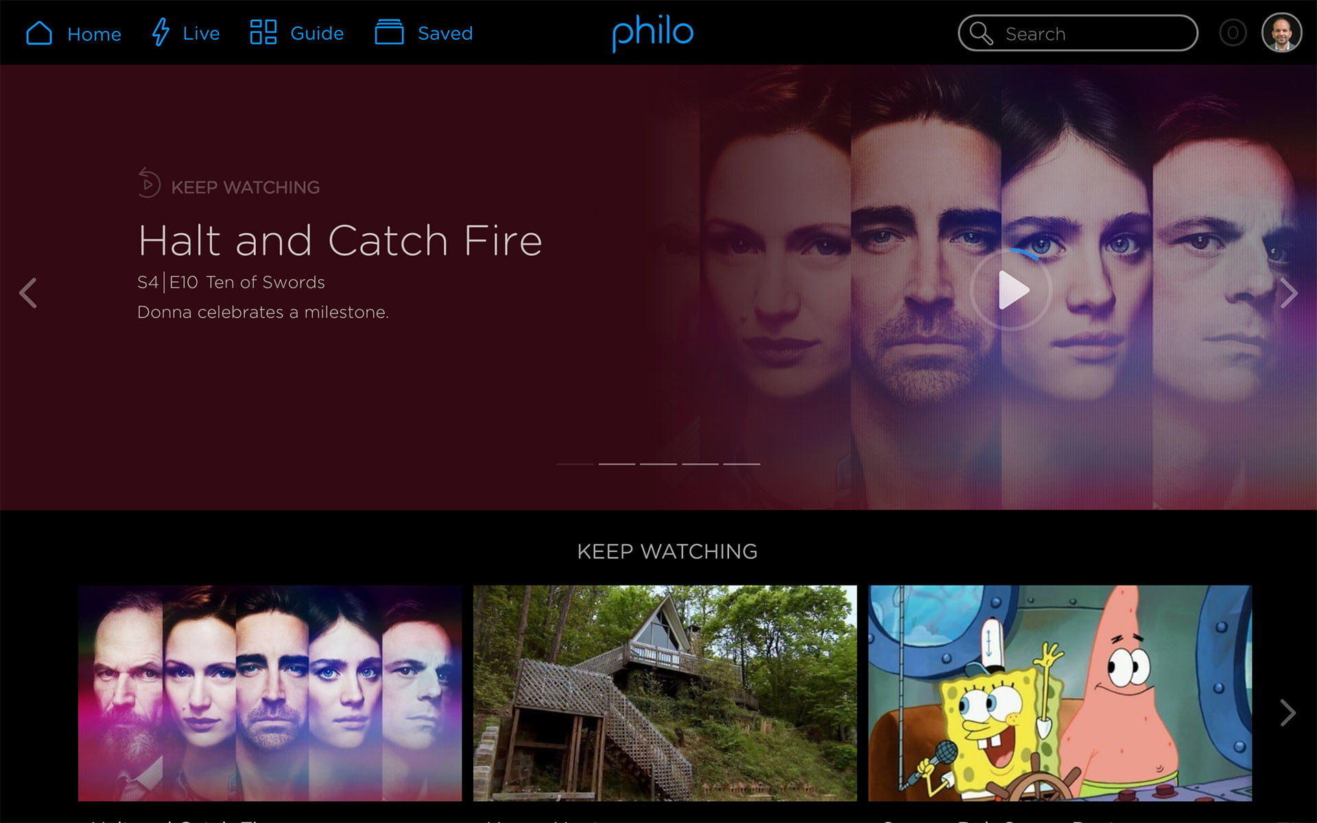 philo tv channels pricing features home page top