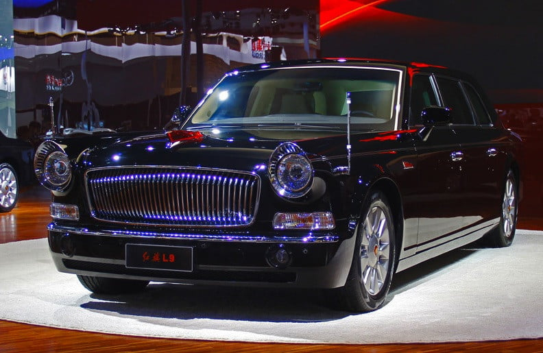 Austin Auto Show >> Hongqi L9: The $1-million Chinese luxury car with the face of an Austin American and the body of ...