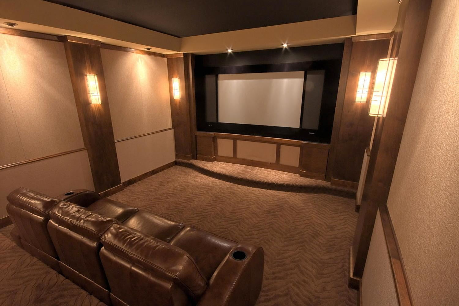 How To Choose A Projection Screen Digital Trends Wiring Home Theater Tv