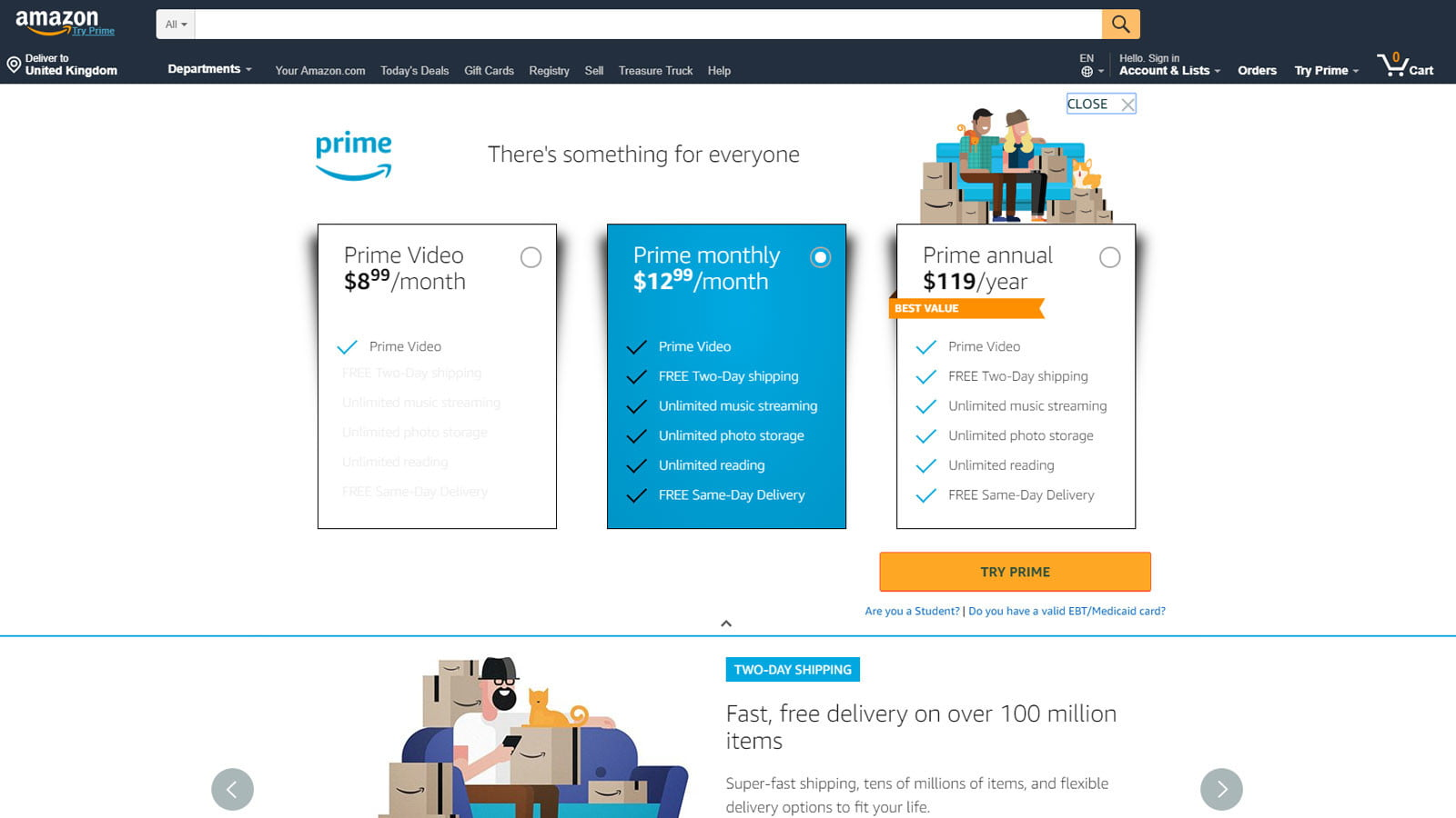 How to Sign up for Amazon Prime | Digital Trends