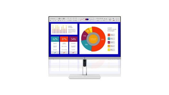 hp launches new monitors and all in one ces 2019 elitedisplay e243p sure view monitor adjust