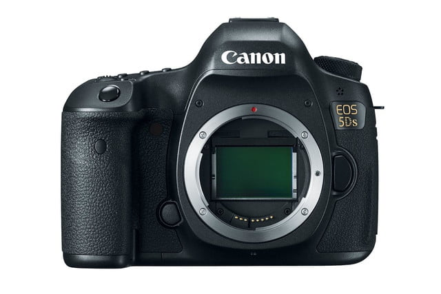 50 6 megapixel full frame sensor canons 5ds one super high resolution dslr hr body front up cl