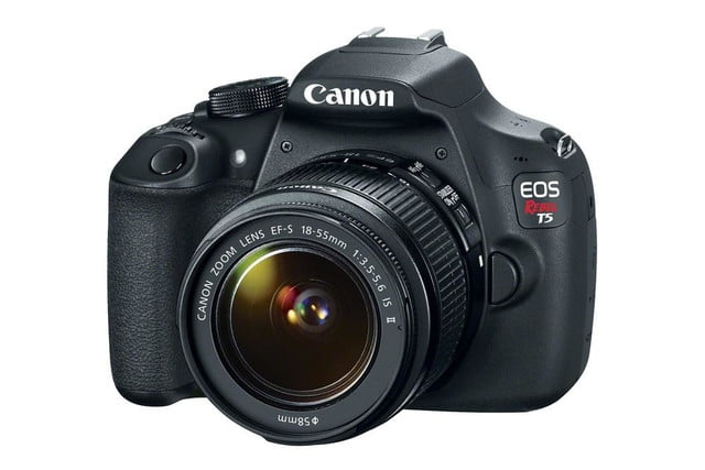 canon introduces eos rebel t5 entry level dslr hr efs18 55 is ii 3q cl
