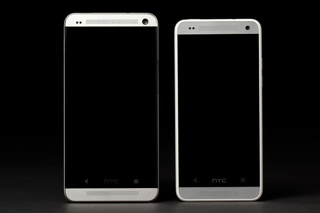 htc one mini comparison screens