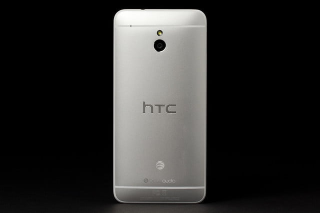 htc one mini rear