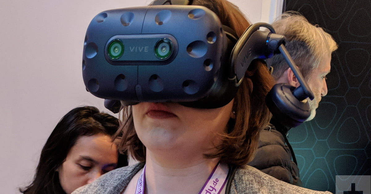 The Vive Pro is a VR headset made for virtual reality enthusiasts