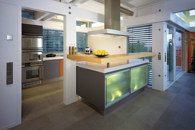 huf haus prefab mansions are ultra luxurious mansion kitchen
