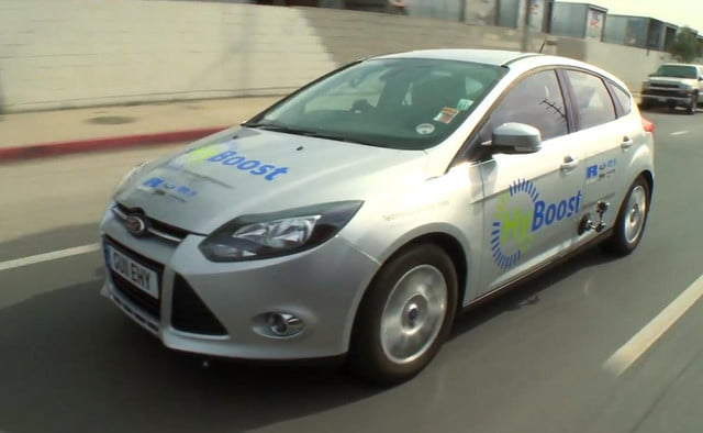 Jay Leno Tests Out The Ricardo Hyboost Ford Focus