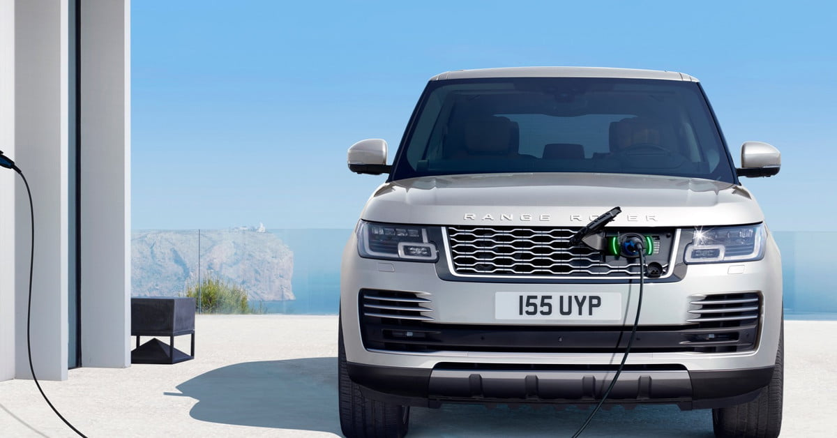 land rover continues its electrification push with a range. Black Bedroom Furniture Sets. Home Design Ideas