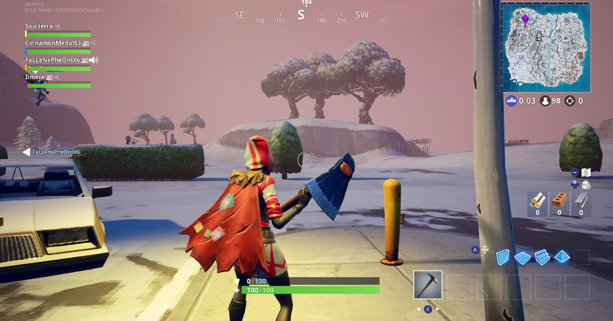 Fortnite Ice Storm challenges: Destroy ranged ice fiends and golden ice brutes