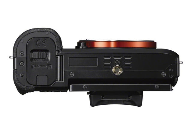 sonys full frame mirrorless camera goes 4k unveiling new a7s ilce 7s bottom 1200