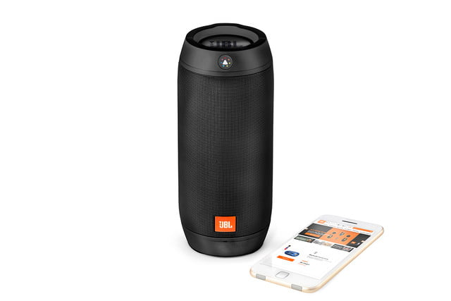 jbl new bluetooth speakers boost tv trip pulse 2 ifa 2015 image  pulse2 black phone