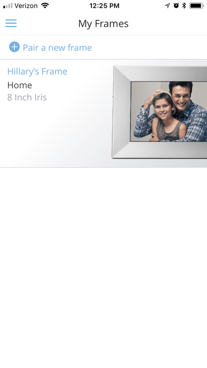 nixplay iris review digital picture frame img 8177