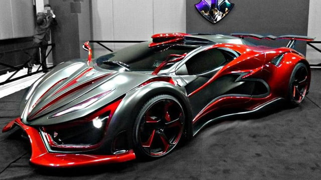 inferno exotic car 1400 horsepower metal foam pictures 002