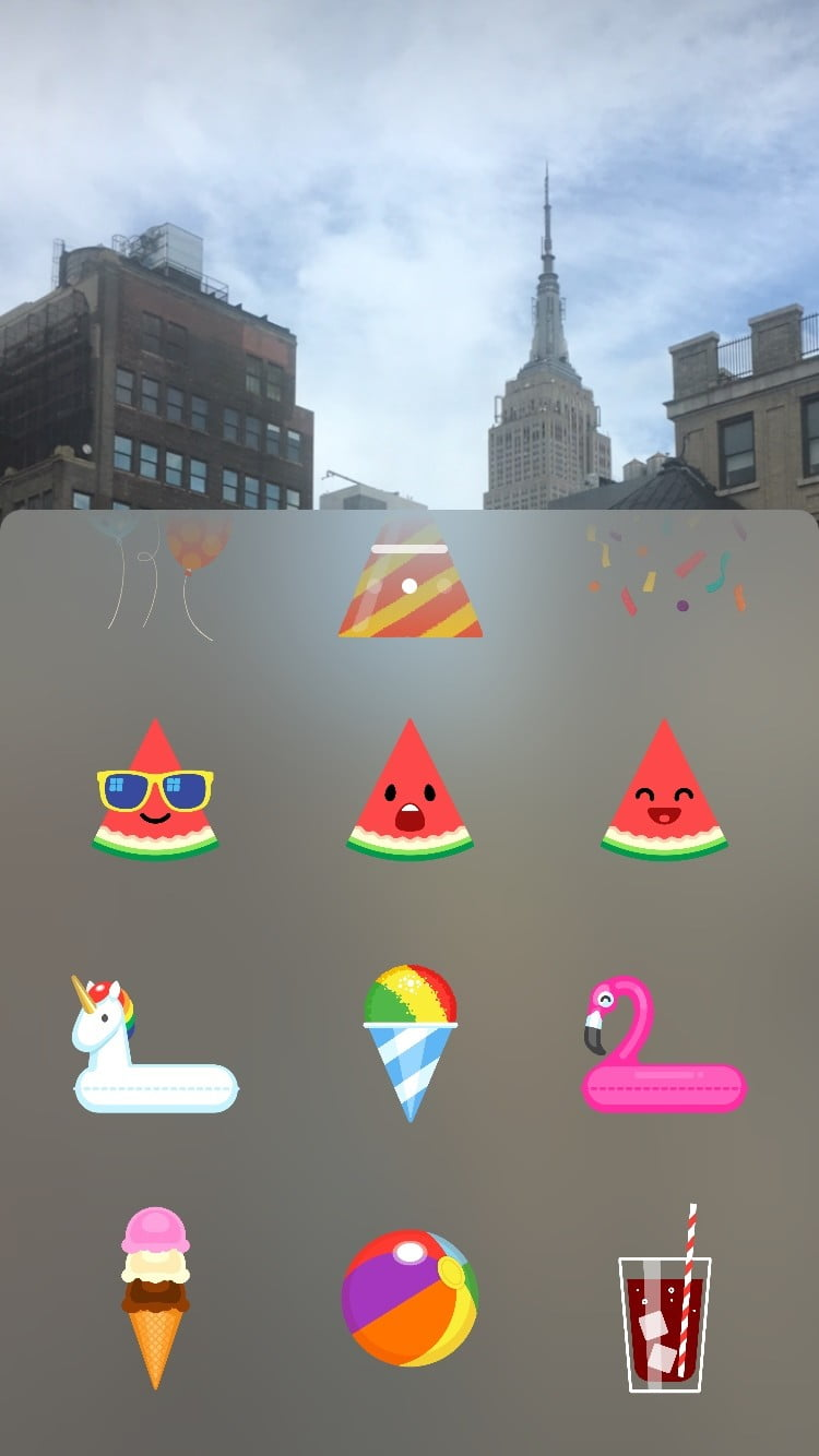 how to add stickers on instagram stories