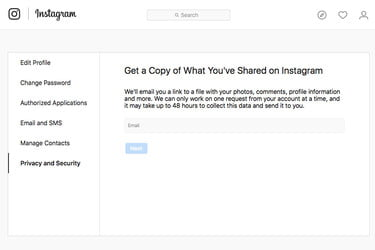 Instagram Gains Download Tool in Privacy-Motivated Move | Digital Trends