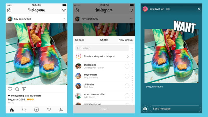 instagram share stickers launches instagramshare