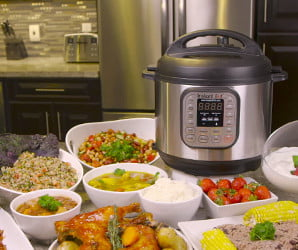 You can cook an entire Thanksgiving dinner in an Instant Pot. Here's how