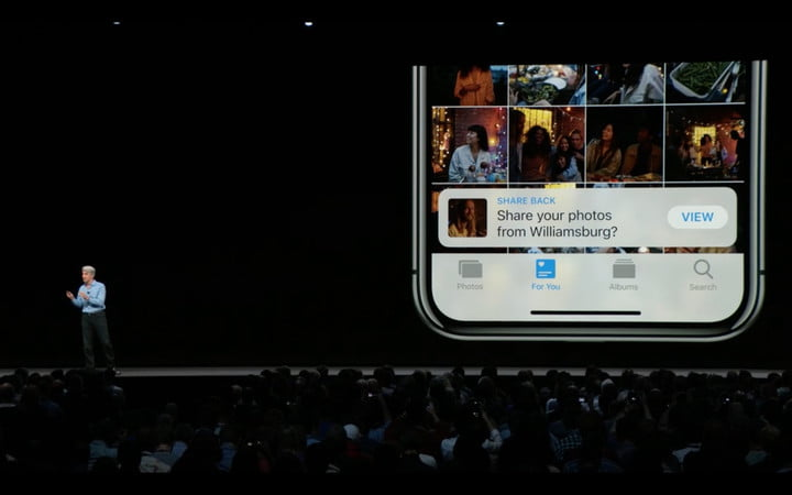 ios 12 features release date photo sharing
