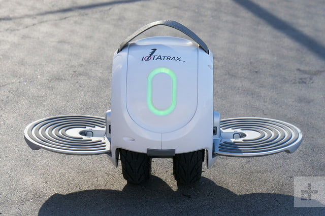 IotraTrax front above rideable